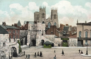 Bootham Bar and Minster, York